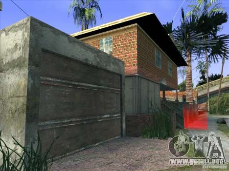 Grove Street Retextured para GTA San Andreas séptima pantalla
