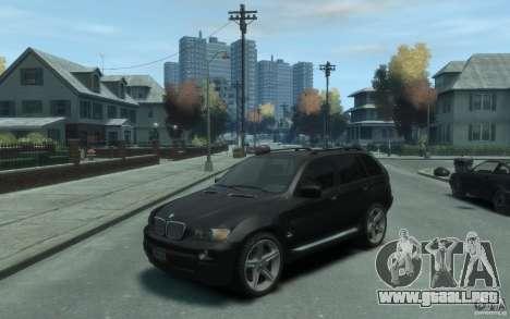 BMW X5 (E53f) 2004 para GTA 4
