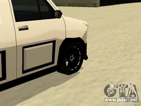 Burrito by W1nstoN para GTA San Andreas vista hacia atrás
