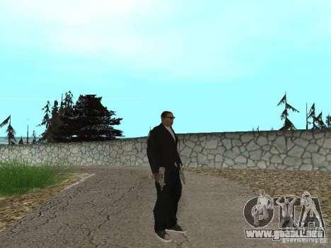 CJ Mafia Skin para GTA San Andreas segunda pantalla