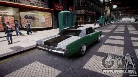 Pontiac GTO 1965 v3.0 para GTA 4 vista superior