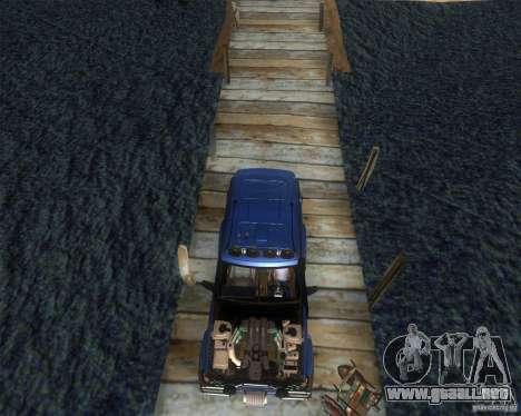 Landrover Discovery 2 Rally Raid para la visión correcta GTA San Andreas