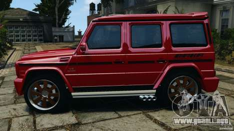 Mercedes-Benz G55 AMG para GTA 4 left