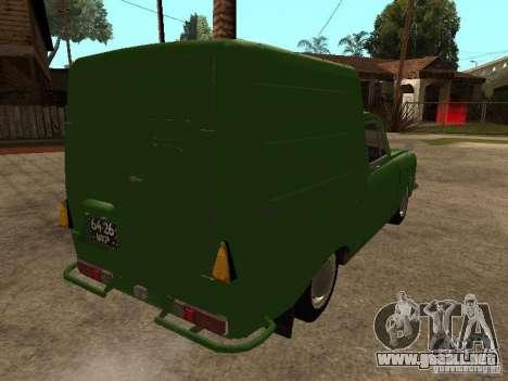 Versión temprana IZH 2715 para la visión correcta GTA San Andreas