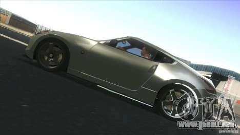 Nissan 370Z Drift 2009 V1.0 para la visión correcta GTA San Andreas