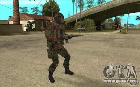 Bandera de las fuerzas especiales para GTA San Andreas segunda pantalla