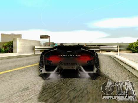 Citroen GT Gymkhana para visión interna GTA San Andreas