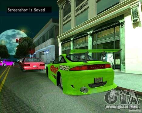 Mitsubishi Eclipse GS-t para la visión correcta GTA San Andreas