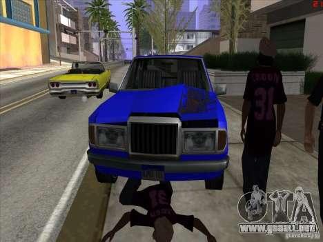 Colores más brillantes para los coches para GTA San Andreas quinta pantalla