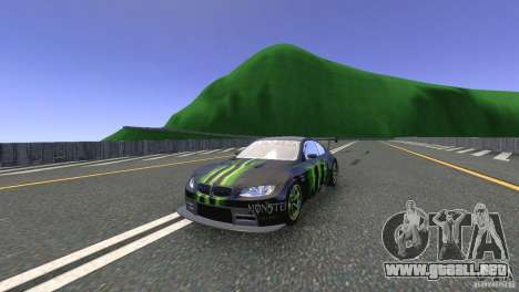 BMW M3 Monster Energy para GTA 4