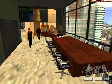 20th floor Mod V2 (Real Office) para GTA San Andreas sexta pantalla