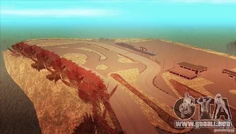 The Ebisu South Circuit para GTA San Andreas sexta pantalla