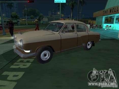 GAS M21T Taxi para GTA San Andreas left