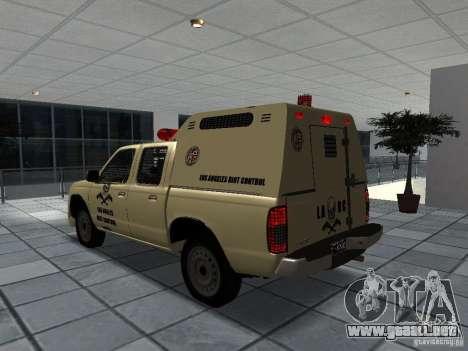 Nissan Terrano LARC para GTA San Andreas left