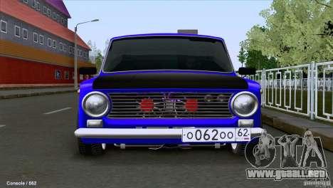 VAZ 2101 Coupe Loui para GTA San Andreas left
