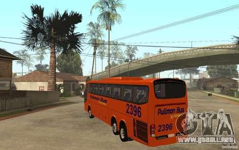 Marcopolo Paradiso 1200 Pullman Bus para GTA San Andreas vista posterior izquierda