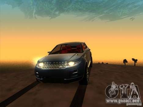 ENBSeries by Fallen v2.0 para GTA San Andreas quinta pantalla