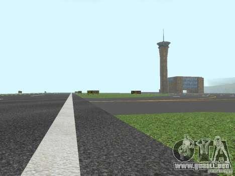 New Airport San Fierro para GTA San Andreas sucesivamente de pantalla