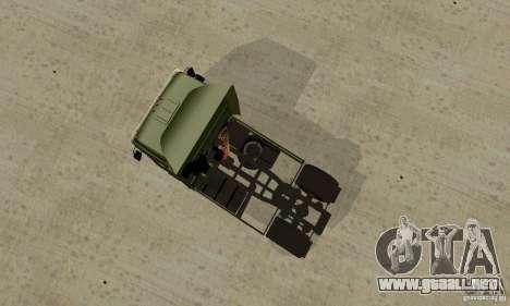 KAMAZ 5460 piel 5 para la visión correcta GTA San Andreas