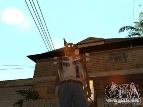 Raid para GTA San Andreas segunda pantalla