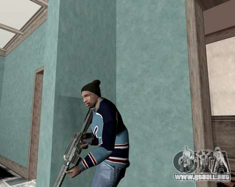 Cubierta del sistema para GTA San Andreas segunda pantalla