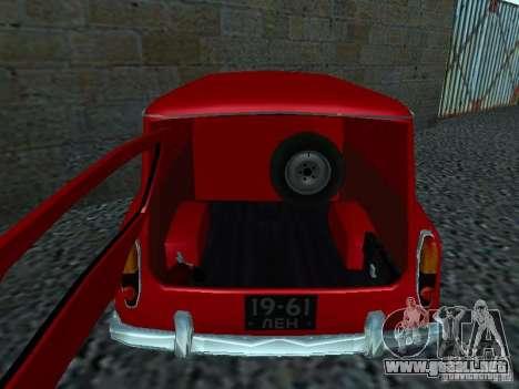 Moskvich 430 para la visión correcta GTA San Andreas