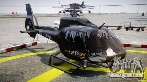 Eurocopter 130 B4 para GTA 4 vista hacia atrás