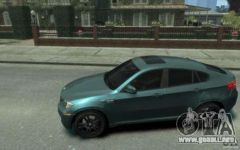 BMW X6-M 2010 para GTA 4 left