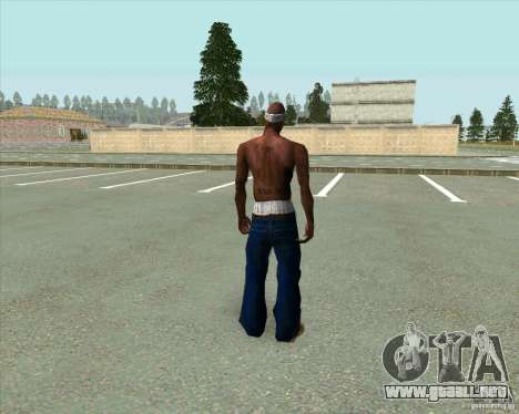 2Pac para GTA San Andreas tercera pantalla