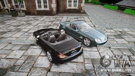 Mercedes Benz SL65 AMG V1.1 para GTA 4 vista desde abajo