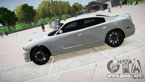 Dodge Charger SRT8 2012 para GTA 4 left