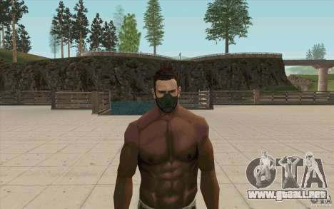 Máscara de acechador para GTA San Andreas