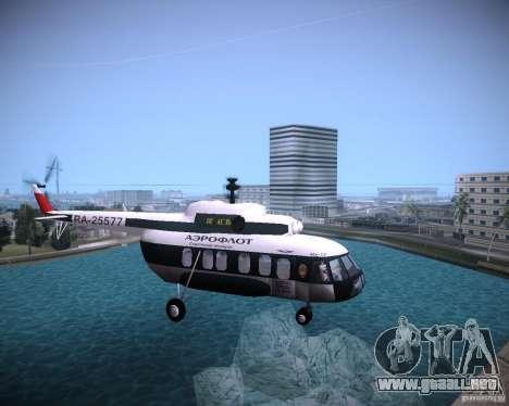 MI-8 para GTA Vice City visión correcta