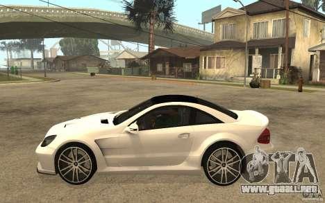 Mercedes-Benz SL65 AMG BS para GTA San Andreas left