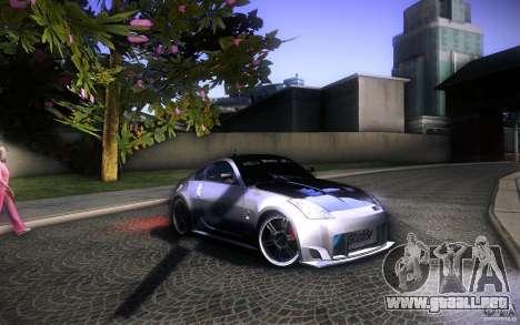 Nissan 350Z Fairlady para la vista superior GTA San Andreas