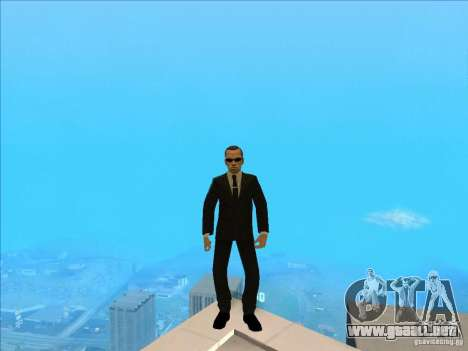 Matrix Skin Pack para GTA San Andreas séptima pantalla