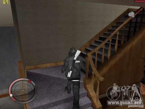 Walk style para GTA San Andreas tercera pantalla