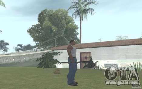 Skullaxe para GTA San Andreas segunda pantalla