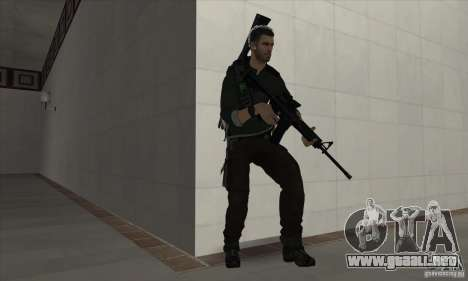 Sam Fisher para GTA San Andreas segunda pantalla