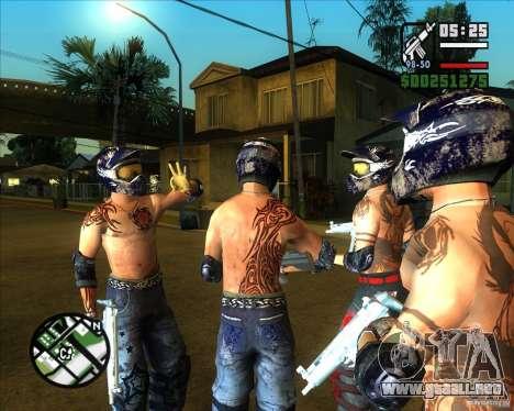 Nuevos aspectos de surco para GTA San Andreas