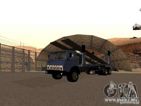 Camión KAMAZ para GTA San Andreas