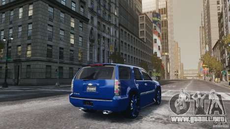 Chevrolet Tahoe tuning para GTA 4 visión correcta