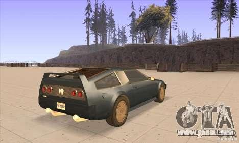 Deluxo HD para la visión correcta GTA San Andreas