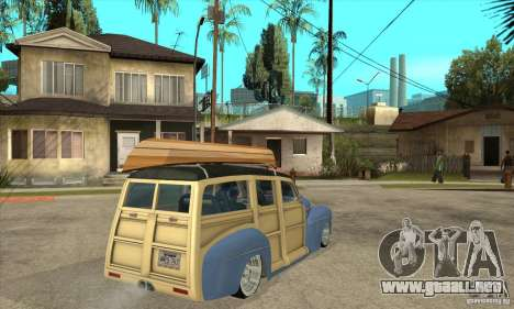 Ford Woody Custom 1946 para la visión correcta GTA San Andreas