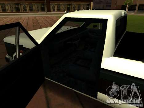 New Tuned Bobcat para visión interna GTA San Andreas