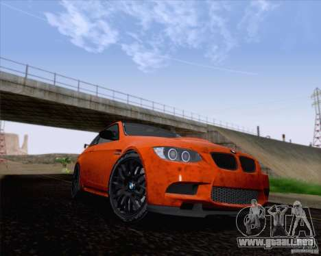 BMW M3 GT-S Fixed Edition para GTA San Andreas left