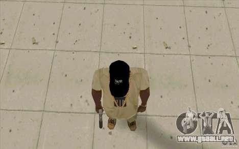 Casquillo d12 para GTA San Andreas tercera pantalla