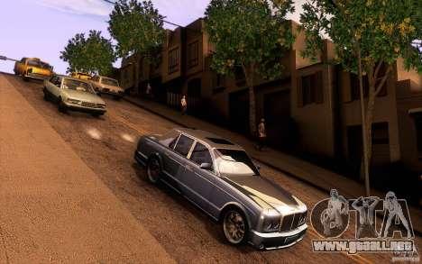 Bentley Arnage R 2005 para visión interna GTA San Andreas