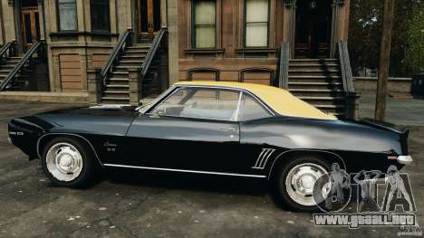 Chevrolet Camaro SS 350 1969 para GTA 4 left