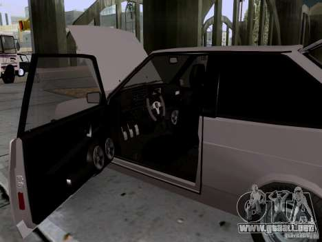 Drenaje VAZ 2108 para vista lateral GTA San Andreas